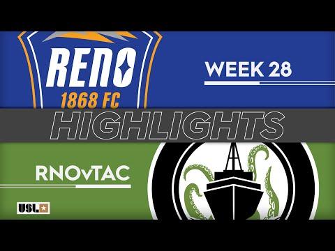 Reno - Tacoma Defiance 5:0. Видеообзор матча 11.09.2019. Видео голов и опасных моментов игры