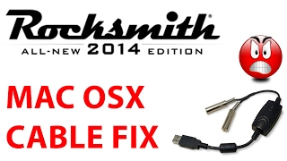 Ein kleiner Trick um das Rocksmith 2014 Realtone Cable unter Mac OSX zum Laufen zu bringen. Social Links: Facebook: ...