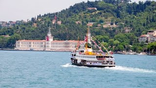 Video Bosphorus Boat Tour in Istanbul / Turkey MP3, 3GP, MP4, WEBM, AVI, FLV April 2019