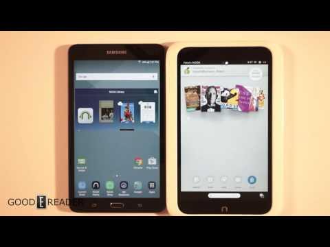 Nook HD vs Samsung Galaxy Tab A Nook