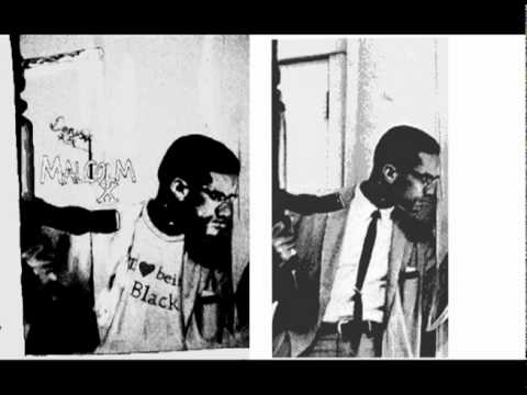 Malcolm X Drawing: By Any Means Necessary by Denzel Seals