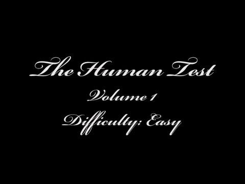 Take The Human Test (Volume 1)