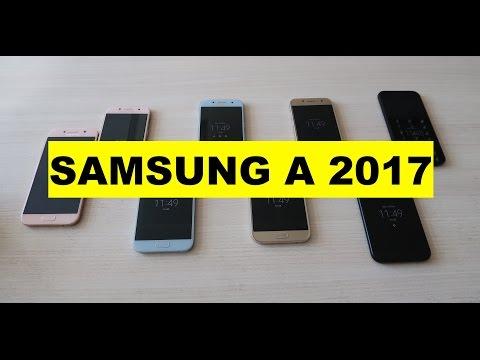 Anteprima Samsung Galaxy A3 ed A5 2017