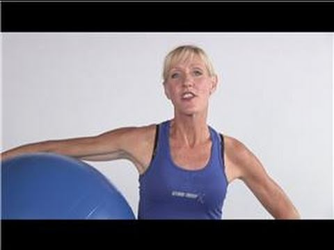 Exercise Tips : How to Lose Weight With an Exercise Ball