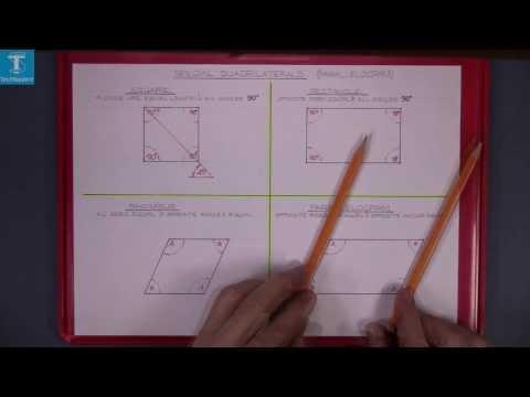 Quadrilaterals parallelogram