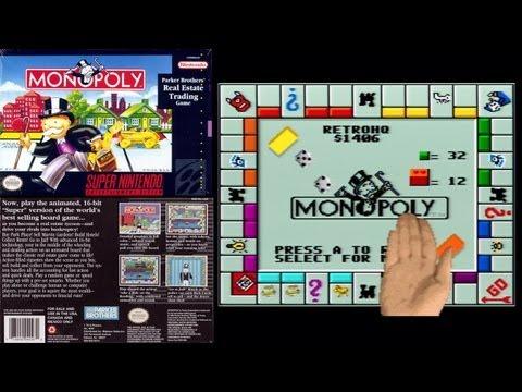 monopoly para super nintendo