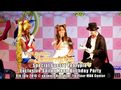 "Exclusive Sailor Moon Birthday Party | Special Guest ""Pearypie"""