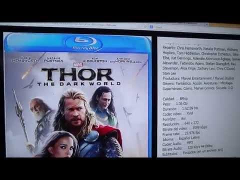 THOR 2: UN MUNDO OSCURO / Thor: The Dark World - [2013] [Audio Latino] [BRrip] [2 Link]