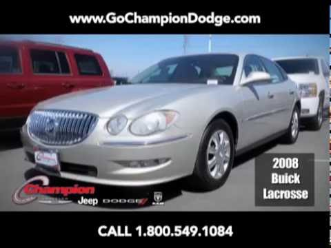 USED 2008 Buick Lacrosse CX for Sale - Los Angeles, Cerritos, Downey, Costa Mesa CA - PREOWNED DEAL