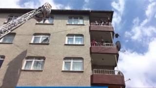 Zeytinburnu Yeşiltepe Mahallesinde Korkutan Yangın
