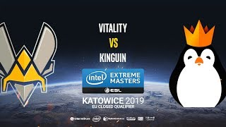 Vitality vs Kinguin - IEM Katowice EU Minor QA - map1 - de_overpass [Anishared]
