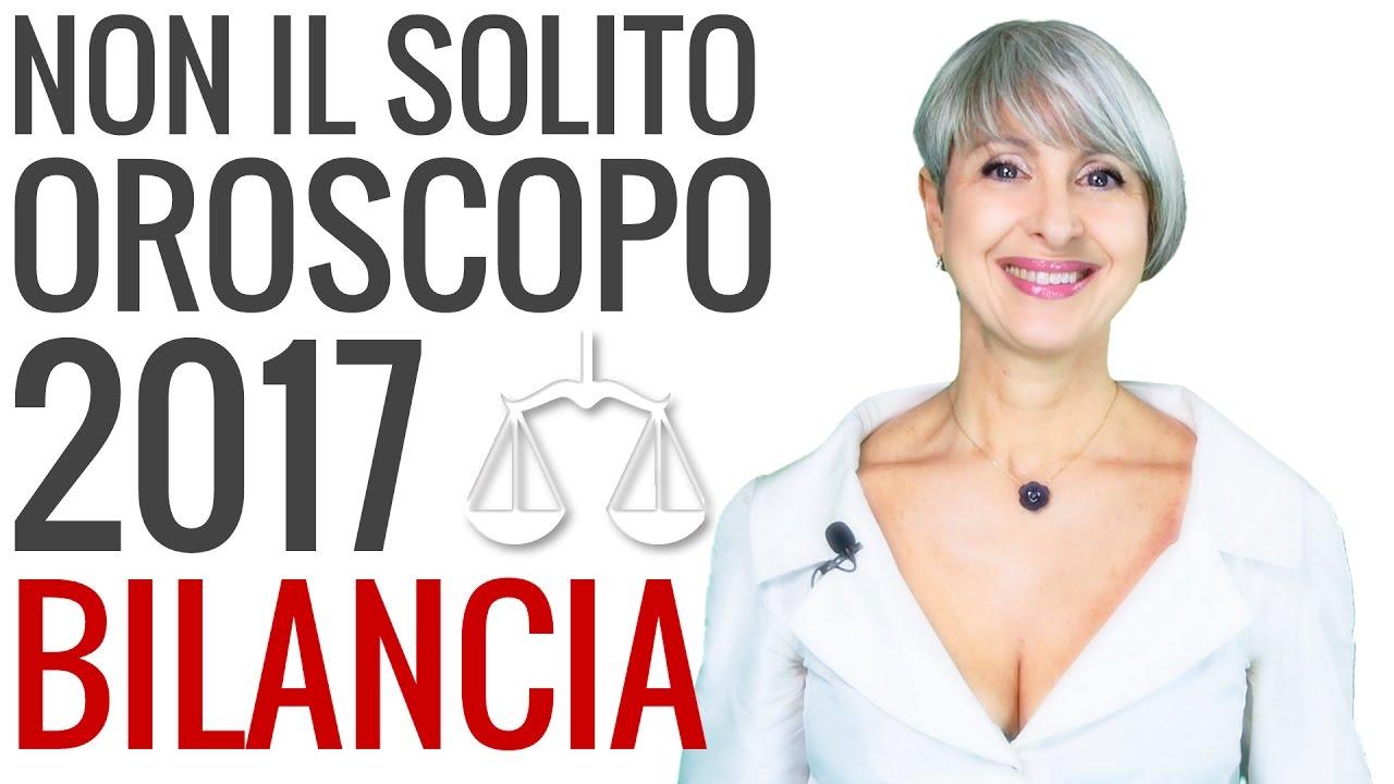 OROSCOPO 2017 ★ Bilancia