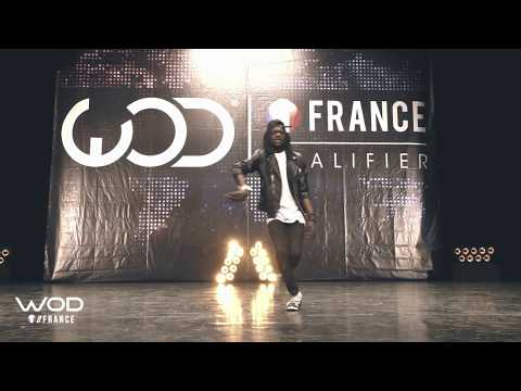 SALIF FRONTROW WORLD OF DANCE FRANCE WOD 2017 MJ TRIBUTE