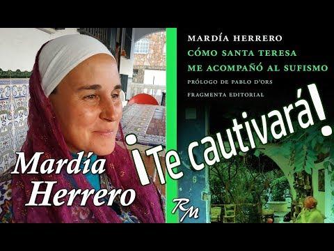 Mardía Herrero comenta 'Cómo santa Teresa me acompañó al sufismo' amb Rafa Millán