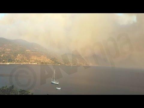 Υπό έλεγχο η πυρκαγιά στη Βόρεια Εύβοια