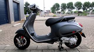 7. Vespa Sprint S Grigio 2017 model Fast Furious scooters