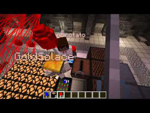 Minecraft Mini-Game : MODDED COPS N ROBBERS! Klüb IcE! (Party Mod)