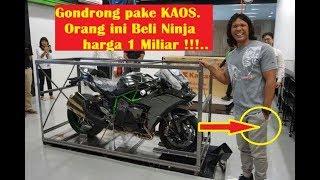 Video pihak Kawasaki Kaget Pria berKAos ini Beli Ninja H2 Carbon Cuma 1 di Indonesia harga 1 Miliar MP3, 3GP, MP4, WEBM, AVI, FLV Agustus 2018