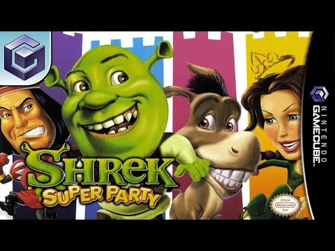 Longplay Of Shrek: Super Party