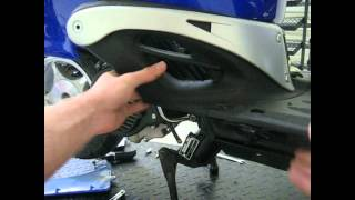 A how to on removing the body panels to remove the fuel level sensor on a BMS Heritage 50cc/150cc scooter.