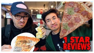 Video Eating At The WORST Reviewed Pizza Restaurant In My City (Los Angeles) MP3, 3GP, MP4, WEBM, AVI, FLV Maret 2019