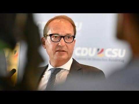 """CSU-Landesgruppenchef Dobrindt spricht von """"sehr erns ..."""