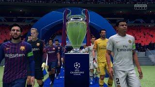 Download Video FIFA 19 | FC Barcelona vs PSG - Full UEFA Champions League Final Gameplay (Xbox One X) MP3 3GP MP4