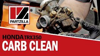 9. Honda ATV Carburetor Cleaning   Honda TRX350   Partzilla.com