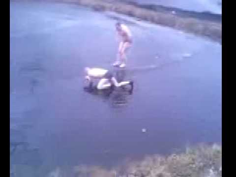 Broma pesada: Clavado en el lago