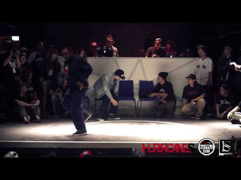 HURRICANES BATTLE-ISM 2013 TAIWAN | DICE (Taiwan) [POPPIN JUDGE SOLO]