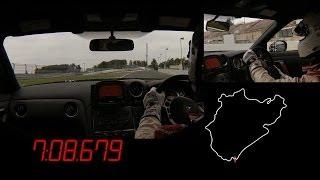 Michael Krumm attacks Nürburgring in Nissan GT-R NISMO