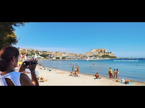 Calvi plage Le 27 septembre 2014 - 17h - HD