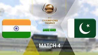 """ICC CHAMPIONS TROPHY 2017 GAMING SERIES - INDIA v PAKISTAN - GROUP B MATCH 4 (DON BRADMAN CRICKET 17, FULL 1080P HD, 30FPS, XBOX ONE S)Check out the Champions Trophy 2013 Gaming Series playlisthttps://www.youtube.com/playlist?list=PLdKwevnrzNGy2Jax2seo6LK0hiYjwt1PKICC Champions Trophy 2017 FixturesMatch 1 - England v BangladeshMatch 2 - Australia v New ZealandMatch 3 - South Africa v Sri LankaMatch 4 - India v PakistanMatch 5 - Australia v BangladeshMatch 6 - England v New ZealandMatch 7 - Pakistan v South AfricaMatch 8 - Sri Lanka v IndiaMatch 9 - New Zealand v BangladeshMatch 10 - England v AustraliaMatch 11 - India v South AfricaMatch 12 - Sri Lanka v Pakistan Semi Final GA1 v GB2Semi Final GB1 v GA2Final TBD v TBD*Warning: The following is a gameplay from the video game """"Don Bradman Cricket 17"""" for the ps4, Xbox one s and pc. It is by no means actual highlights of the ongoing event """"""""ICC Champions Trophy 2017""""  My gaming setuphttps://www.elgato.com/en/gaming/game-capture-hd60http://store.steampowered.com/app/464850/Don_Bradman_Cricket_17/http://www.vegascreativesoftware.com/ca/vegas-pro/Like me on Facebookhttps://www.facebook.com/PGEHamzah/?ref=bookmarksBe sure to message me any important questions onto there.Comment who you think will win the ICC Champions Trophy 2017 Gaming Series.Be sure to subscribe to join the PGE Army!"""