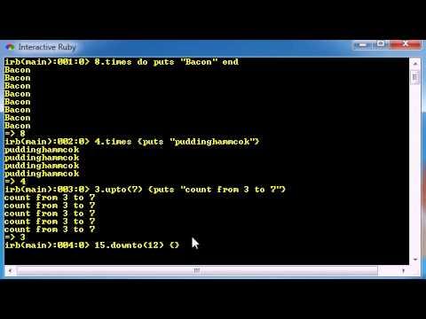 Ruby Programming Tutorial - 17 - Loops