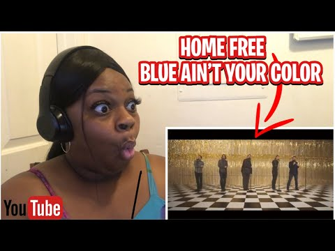 FIRST TIME REACTING TO-Keith Urban - Blue Ain't Your Color (Home Free)