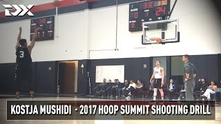 2017 Nike Hoop Summit Shooting Drills: Kostja Mushidi