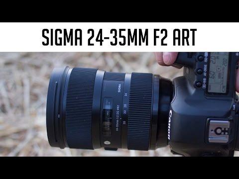 Sigma 24-35mm F2 Weitwinkel-Zoom-Objektiv im Test