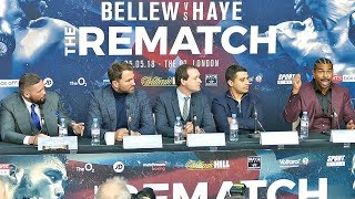 Tony Bellew vs David Haye Rematch PRESS CONFERENCE | Matchroom Boxing