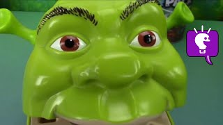 Shrek gets his teeth brushed and turn rotten! Play-Doh teeth filled with toy surprises. HobbyDad reviews the Joker Laugh Factory by Imaginext. Batman battles with Joker. This idea created by HobbyKidsTV. Subscribe for NEW Shows: http://www.youtube.com/subscription_center?add_user=HobbyKidsTV ---TOY VIDEOS---Family Video Gaming Fun: https://www.youtube.com/playlist?list=PLzDMAGLsSlZrhbIdcXn1B5qLtd_6D9407World's Biggest Surprise Eggs: https://www.youtube.com/playlist?list=PLzDMAGLsSlZoNvpGg-ijs4DlYu2RMSOxoGames and Challenges: https://www.youtube.com/playlist?list=PLzDMAGLsSlZqo_IVVsyn7Sn0yFehplgK1Best Family Fun Shows: https://www.youtube.com/playlist?list=PLzDMAGLsSlZpBsqsE4zkBbucAsQ0bgiWdLearning Playlist:http://www.youtube.com/playlist?list=PLzDMAGLsSlZo8aAHrPRzVmM_oW_hZtxdO---OUR OTHER HOBBY CHANNELS---HobbyFamilyTV (Vlog and Extras): http://www.youtube.com/user/hobbykidsvidsHobbyPigTV (Video Gaming):http://www.youtube.com/user/hobbygamestvHobbyFrogTV (Video Gaming):http://www.youtube.com/user/hobbytrixieHobbyBearTV (Toys, Video Games, more):http://www.youtube.com/user/hobbykidsland---FIND US---http://www.Twitter.com/HobbyKidsTVhttps://www.facebook.com/HobbyKidsTV/http://www.HobbyKidsTV.comhttps://www.instagram.com/hobbykidstv/---ABOUT HobbyKidsTV---HobbyKidsTV is the #1 place for kids to watch family-friendly clean shows! Video gaming and giant surprise egg adventures. We are world renowned for being the first and original inventor of all GIANT SURPRISE EGGS! It was our sons unique idea in 2013 to make a wonderful GIANT surprise egg for all our fans. We are the leader in kids creative ideas, skits and science fun. Subscribe to HobbyKidsTV, the trusted brand of families across the globe. We produce the best and most fun kids toy and gaming shows. Collector of the best toys to teach kids imaginative play through games or adventures. HobbyKids love sharing fun educational learning and popular play. Be a HobbyFan today and subscribe for free to see new edutainment s