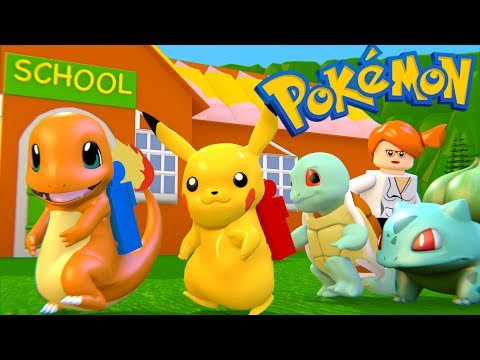 LEGO POKEMON BACK TO SCHOOL (compilation)