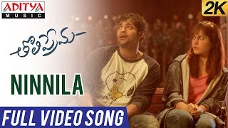 Video Ninnila Full Video Song | Tholi Prema Video Songs | Varun Tej, Raashi Khanna | SS Thaman MP3, 3GP, MP4, WEBM, AVI, FLV Desember 2018