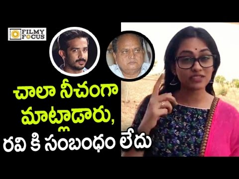 Anchor Geetha Bhagat Fires on Chalapathi Rao and Backs Anchor Ravi