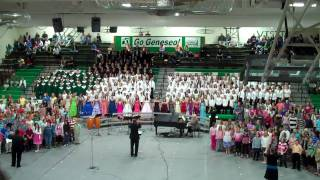 Geneseo (IL) United States  city photos gallery : Proud to be an American- Geneseo, IL- All Unit Choir Concert