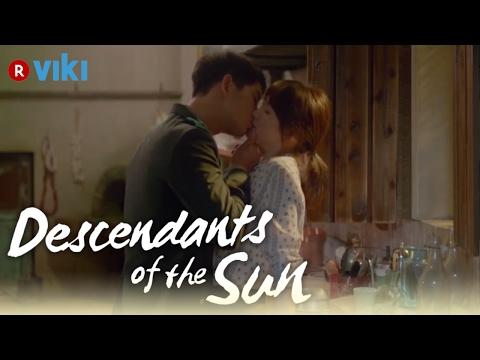 Descendants of the Sun - EP5 | Song Joong Ki & Song Hye Kyo Wine Kiss [Eng Sub]