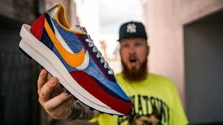 HOW GOOD IS THE SACAI X NIKE LDV WAFFLE?! (Sneaker of the Year?)