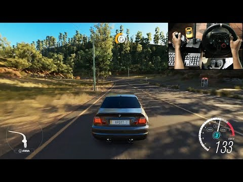 BMW M3 E46 - Forza Horizon 3 (Logitech g29) gameplay