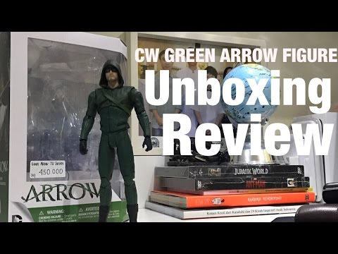 CW Arrow Season 3 Green Arrow Figure ! : Nerdom