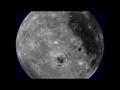 Rotating Moon From The Lunar Reconnaissance
