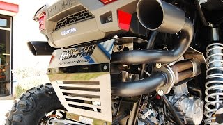7. Gibson Exhaust Polaris RZR XP 1000