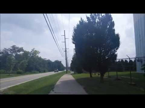 Franklin County And Dublin, Ohio Siren Test Ambiance 8/6/2014